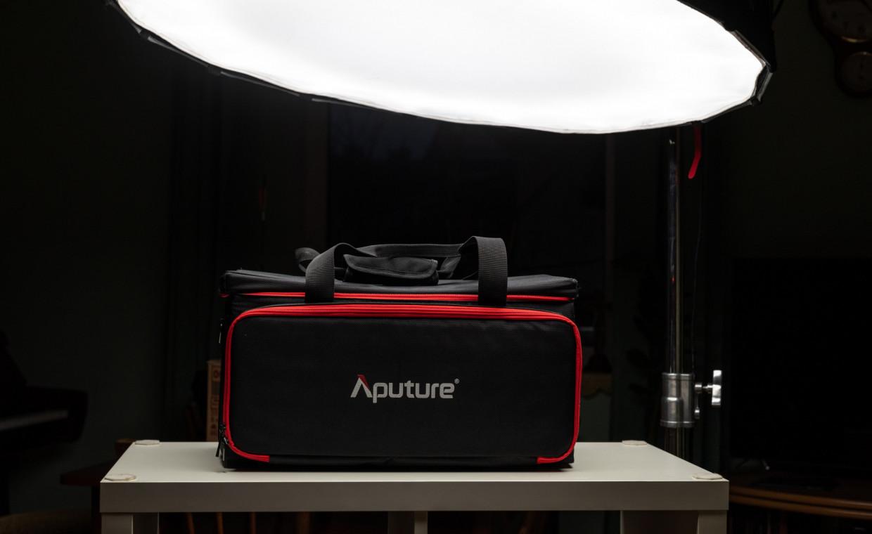 Aputure LS cob 120d / softbox, Fotoaparatų priedų nuoma – Dalinuosi lt
