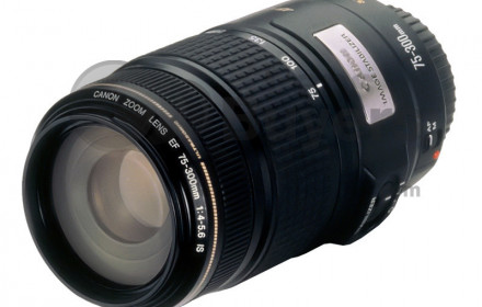 Canon 75-300mm f/4-5.6 is