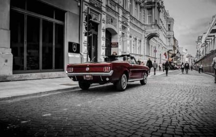 Mustang rent Lithuania