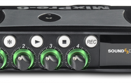 Sound Devices MixPre-6 Rekorderis