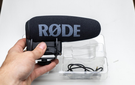Rode VideoMic Pro Plus mikrofonas