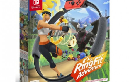 NINTENDO SWITCH su Ring Fit Adventure