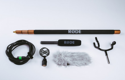 Rode NTG-2 Shotgun Mic Kit