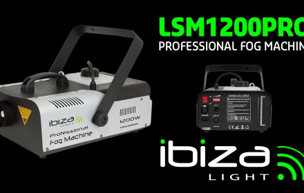 Ibiza light 1200w dūmų mašina
