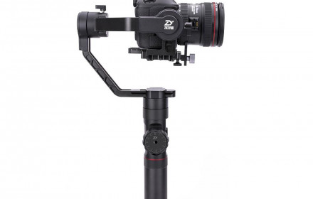 Zhiyun Crane 2 su Follow focus