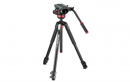 Trikojis MANFROTTO 190 su video galva