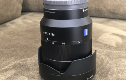 Sony FE 24-70mm f/4 ZA OSS Lens ZEISS