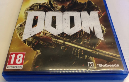 Ps4 zaidimas (zaidimai) Doom