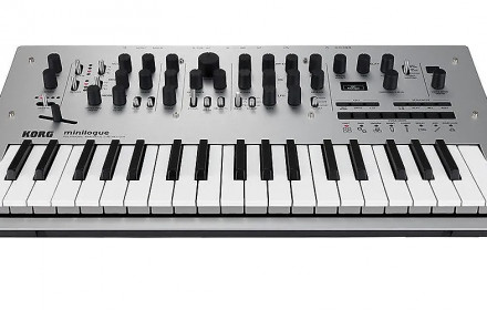 Analoginis sintezatorius Korg Minilogue