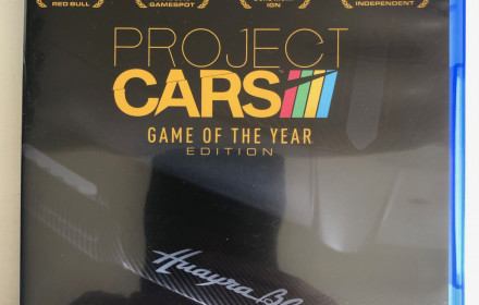 PS4 zaidimas (zaidimai) Project Cars