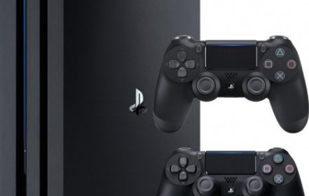 Sony PlayStation 4 PS4 Pro 1TB, 2 pultai