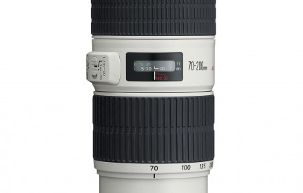 Canon EF 70-200mm f/4L IS USM ir filtras