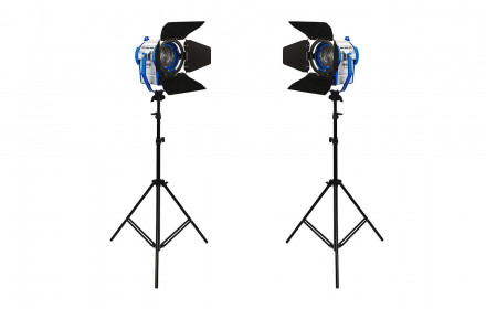 Fresnel Lights - 300 HWA Studio (3 vnt.)