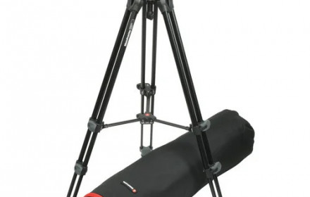 Manfrotto MVT502AM su MVH500A  ir kt.