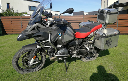 BMW GS1200 adventure 2017metu