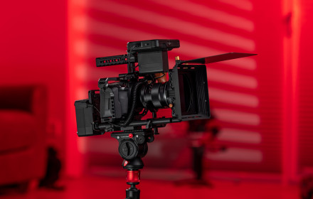Blackmagic pocket cc 4K RIG: run & gun