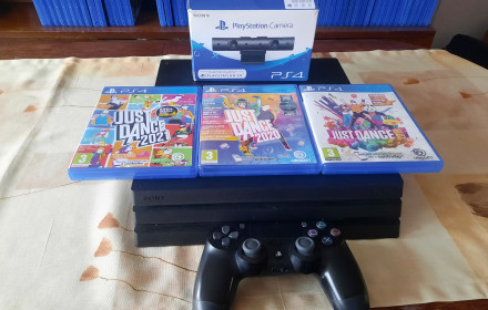 Ps4 Pro su Ps4 kamera ir Just Dance21