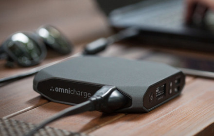 OmniCharge20 battery pack – USB ir 220V