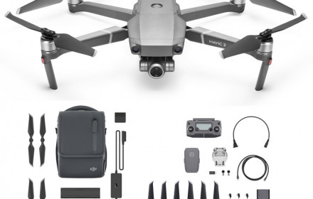 DJI Mavic 2 Zoom (fly more kit)