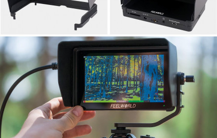 Feelworld F6 plus monitorius