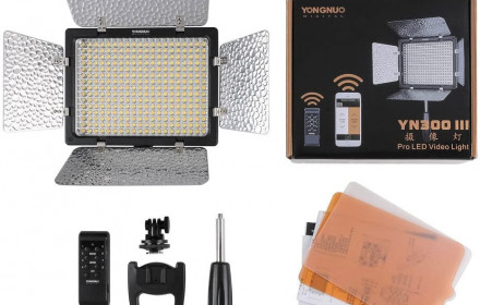YONGNUO YN300 III LED Video, foto lempa