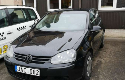 VW Golf 1.9 Dyzelis