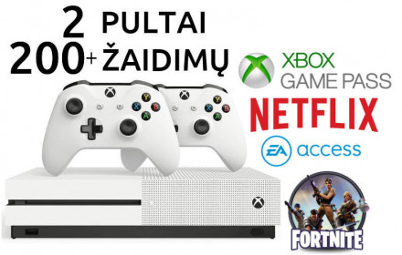 Xbox one S- xbox ultimate -2pulteliai ea