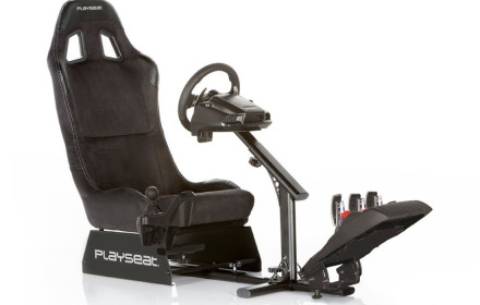 PLAYSEAT ir Logitech G29 su shifter