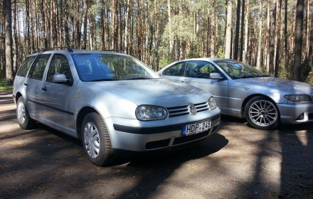 VW Golf 1.9 dyzelis AT