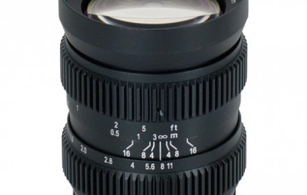 SLR Magic 12mm T1.6 objektyvas