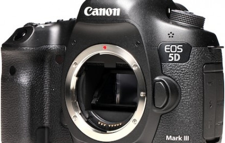 Canon 5D Mark III body.