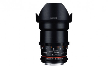 Samyang 35mm T1.5 VDSLR Sony-E mount