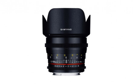 Samyang 50mm T1.5 VDSLR Sony-E mount