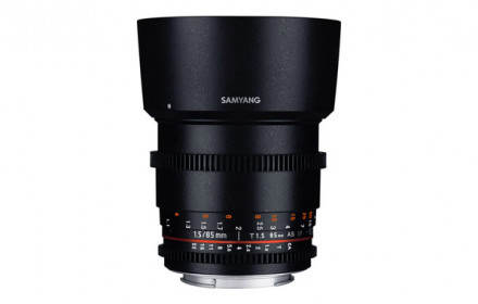 Samyang 85mm T1.5 VDSLR Sony-E Mount