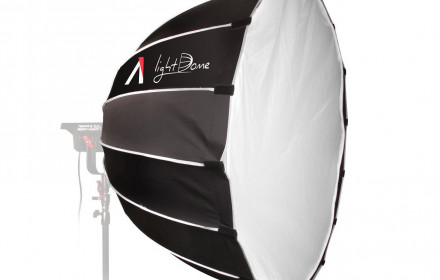 LED Aputure 120d su light dome