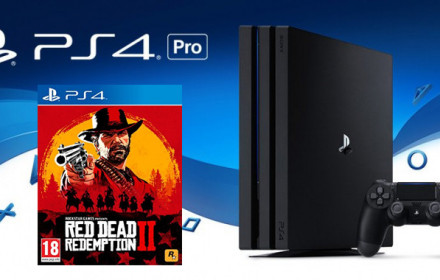 Playstation 4 Pro ir Red Dead Redemption
