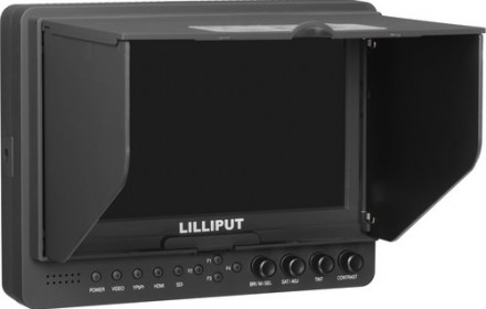 Lilliput 665 1080p 7 monitorius