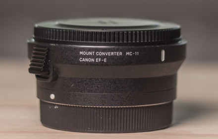 SIGMA MC-11 EF to E mount adapteris