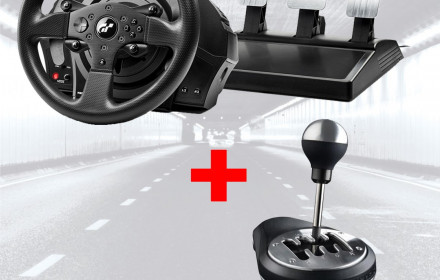 Thrustmaster T300 GT Edition TH8A shift