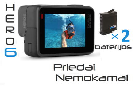 GoPro Hero6 Black nuoma