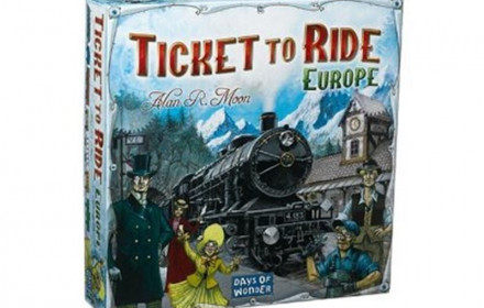 """Ticket to Ride: Europe"" stalo žaidimas"