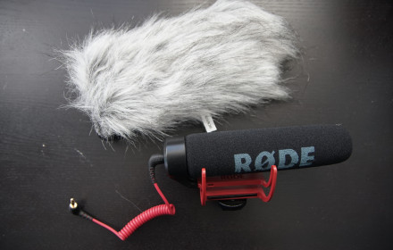 Rode Videomic Go kartu su Deadcat