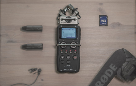 ZOOM H5 - audio recorder