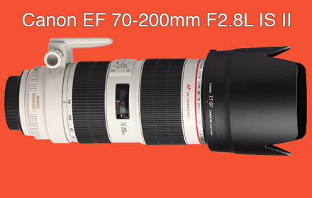 Canon 70-200mm F2.8L USM IS II